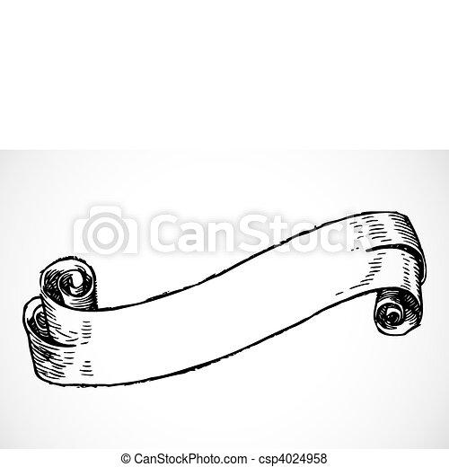 Vector Scroll - csp4024958