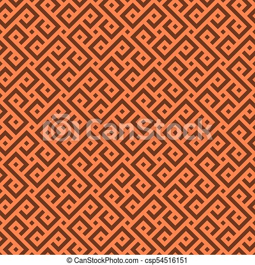 Vector Seamless African pattern