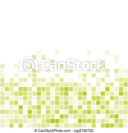 Vector Seamless Green Tiles - csp2190720