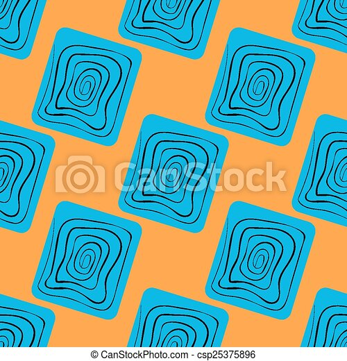 Vector seamless pattern. Abstract - csp25375896