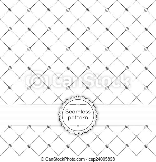 Vector seamless pattern - csp24005838