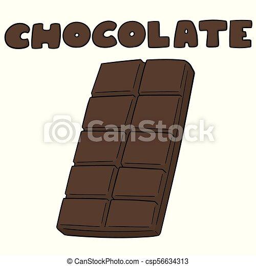 vector set of chocolate - csp56634313