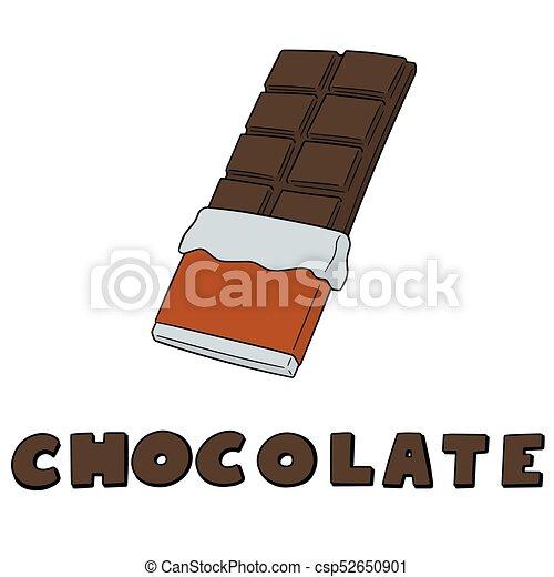 vector set of chocolate - csp52650901