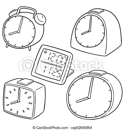 vector set of clock - csp52640954