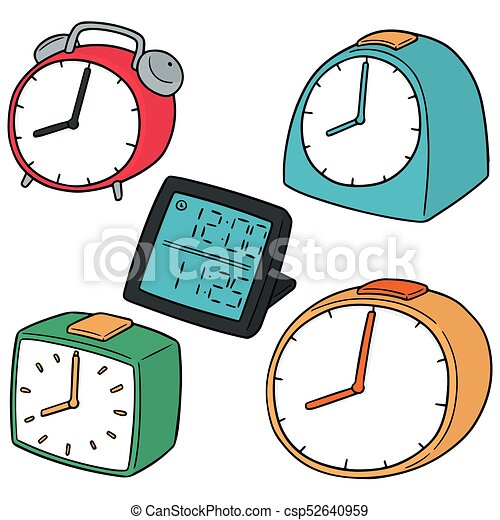 vector set of clock - csp52640959