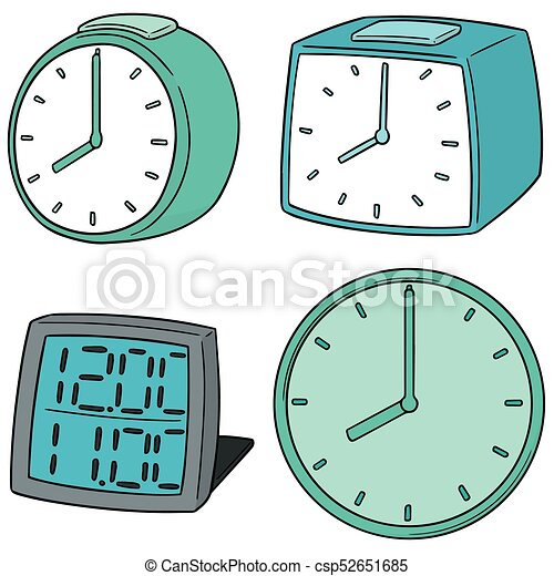vector set of clock - csp52651685