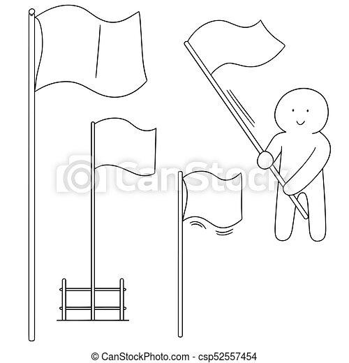 vector set of flags - csp52557454