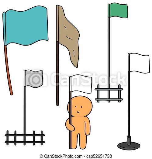 vector set of flags - csp52651738