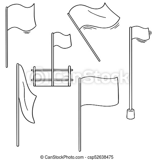 vector set of flags - csp52638475