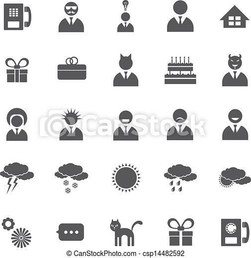 Vector Set Of Icons - csp14482592