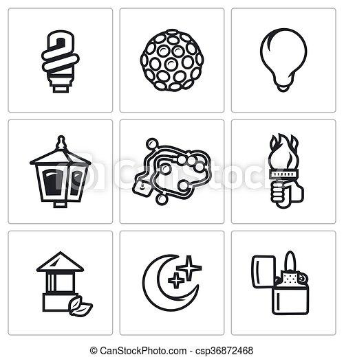 Light Bulb, Equipment, Lantern, Christmas Lighting, Hand With A Torch,  Crescent, Cigar Lighter