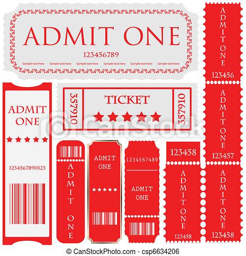 vector set: tickets in different st - csp6634206