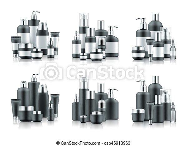 Vector sets of luxury cosmetics - csp45913963