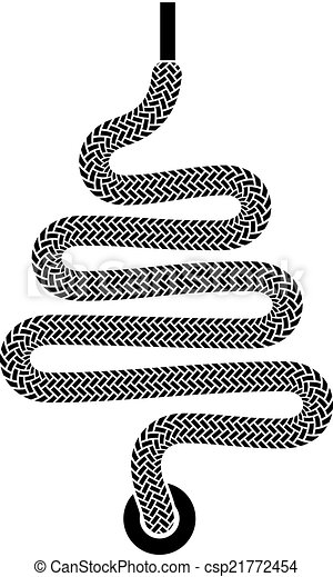 vector shoe lace christmas tree symbol - csp21772454