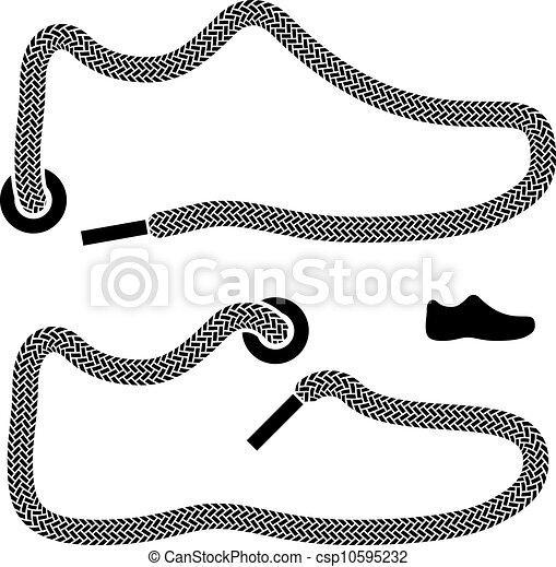 vector shoelace shoe symbols vectors search clip art shoe print clip art free shoe print clipart