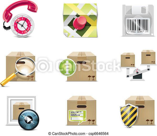 Vector shopping icon. P.5 - csp6646564