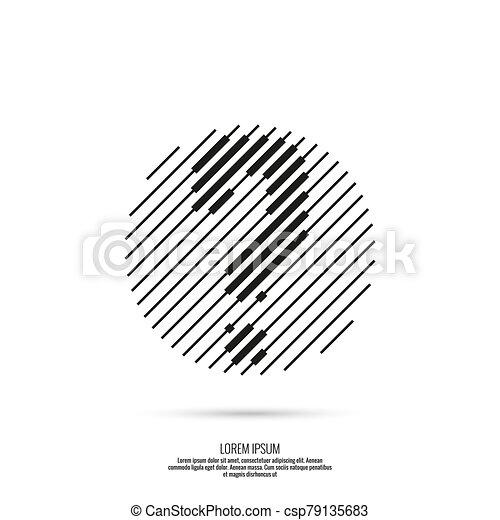 vector, signo de interrogación, icono - csp79135683