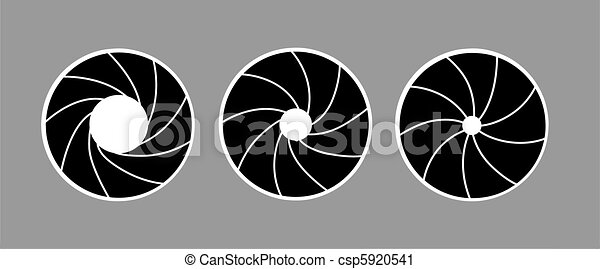 4ebd33407cd Vector silhouette of the diaphragm on white background.