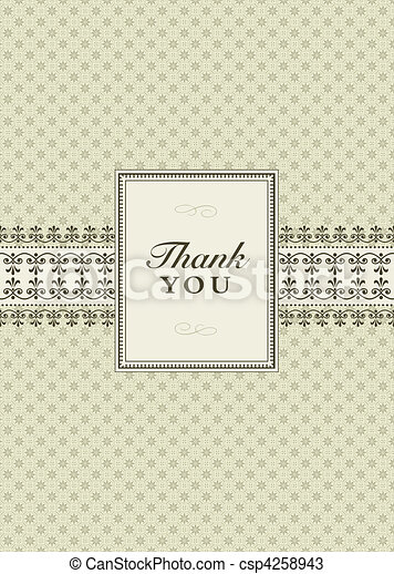 Vector Small Ornate Frame - csp4258943