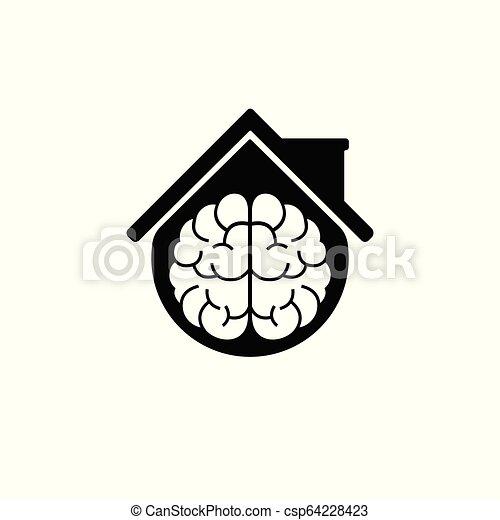 Vector Smart Home Idea Logo Design Template