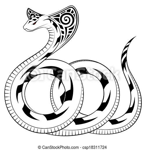 Vector Snake, Cobra - csp18311724