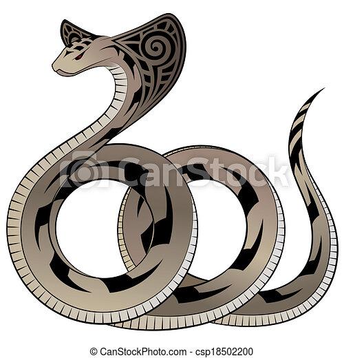 Vector Snake, Cobra - csp18502200