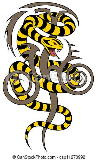 Vector Snake - csp11270992