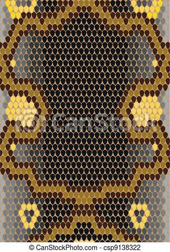 Vector - Snake skin - csp9138322