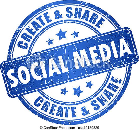Vector social media symbol - csp12139829