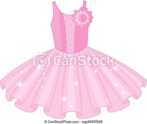 Tutu dress clipart image
