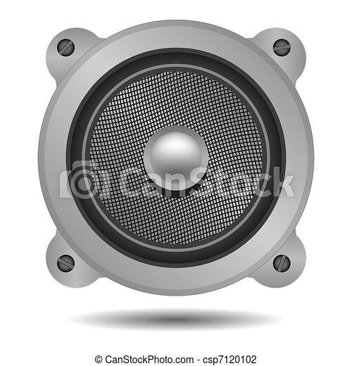 vector speaker for your design - csp7120102