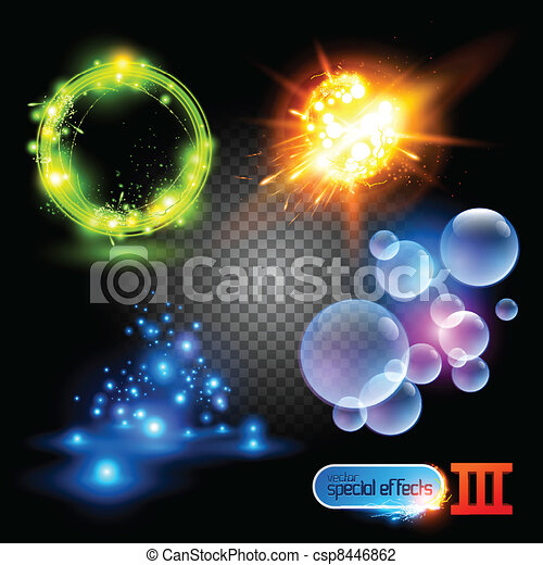 Vector Special Effects 3 - csp8446862