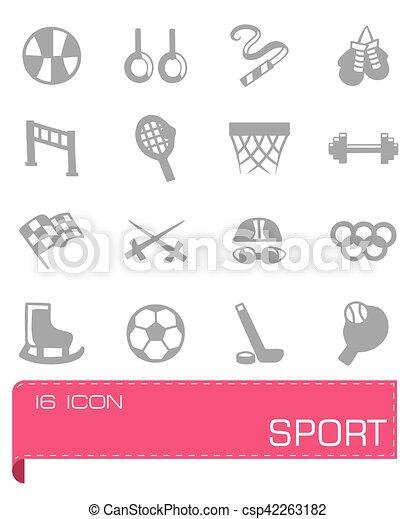 Vector Sport icon set - csp42263182