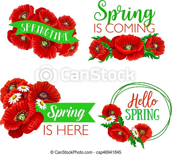 Vector spring time greeting quotes flowers design spring time vector spring time greeting quotes flowers design mightylinksfo