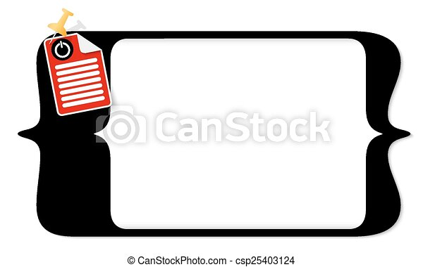 vector square brackets for entering text and document icon and power button - csp25403124