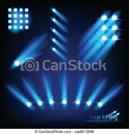 Vector Stage Light Elements