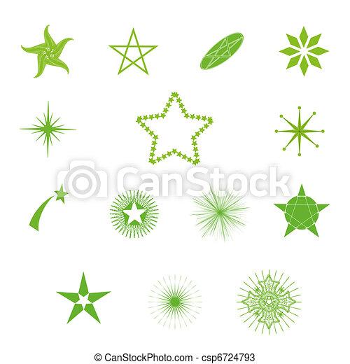 vector stars  - csp6724793