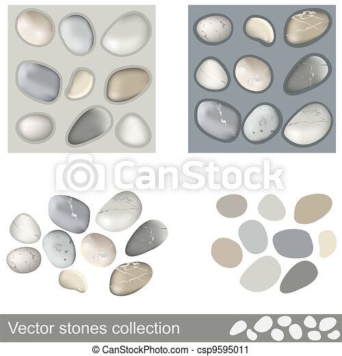 Vector stones collection - csp9595011