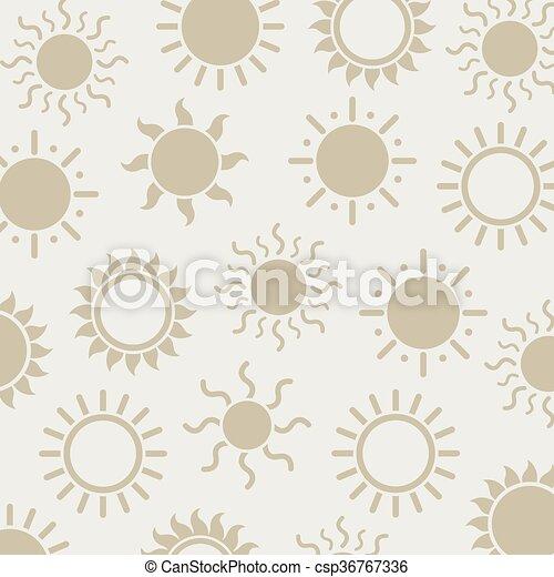 Vector Sun Background - csp36767336