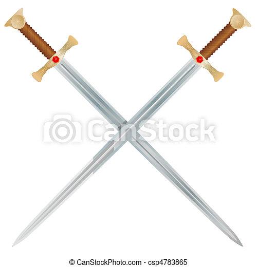 Vector Swords - csp4783865