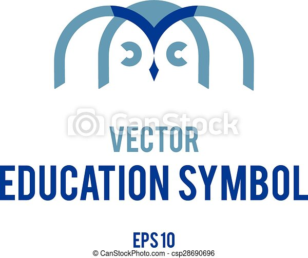 Vector Symbol Of Education Conceptual Vector Graphic Symbol Eps