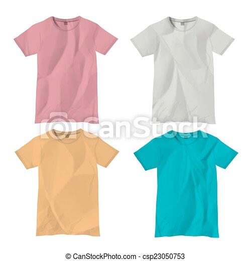 Vector t-shirt design templates - csp23050753