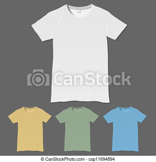 Vector t-shirt design templates - csp11694894