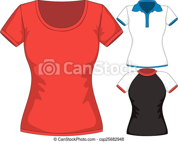 vector t shirt mockup vector set design template women t shirts of