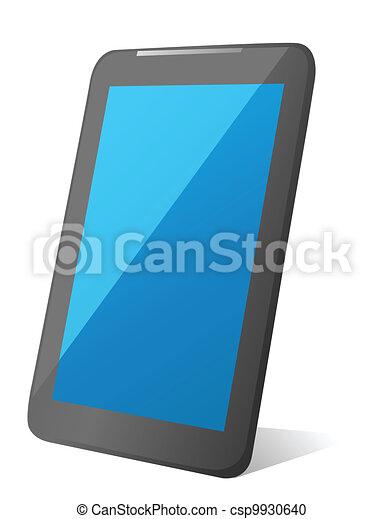 Vector Tablet Computer  - csp9930640