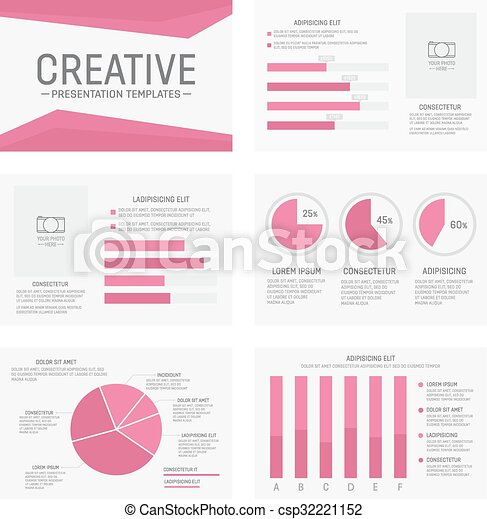 Vector template for multipurpose presentation slides with graphs and vector template for multipurpose presentation slides with graphs and charts infographic element and toneelgroepblik Images