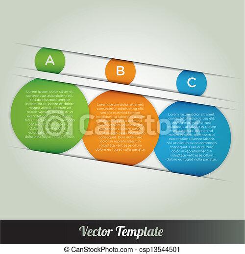 vector template infographics - csp13544501