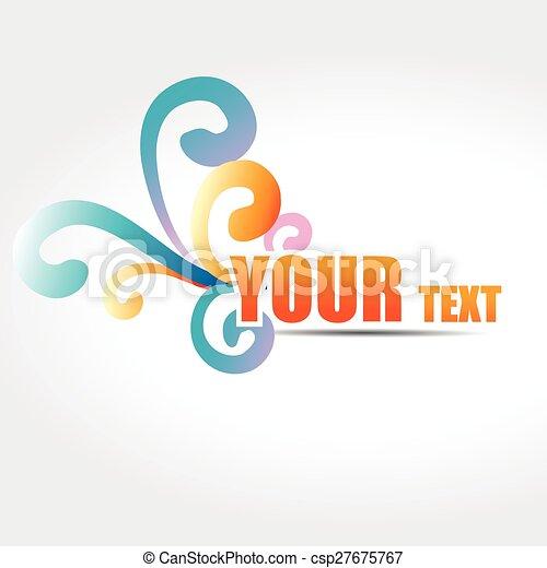 vector text design - csp27675767