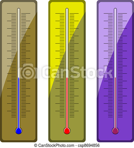 vector thermometers - csp8694856