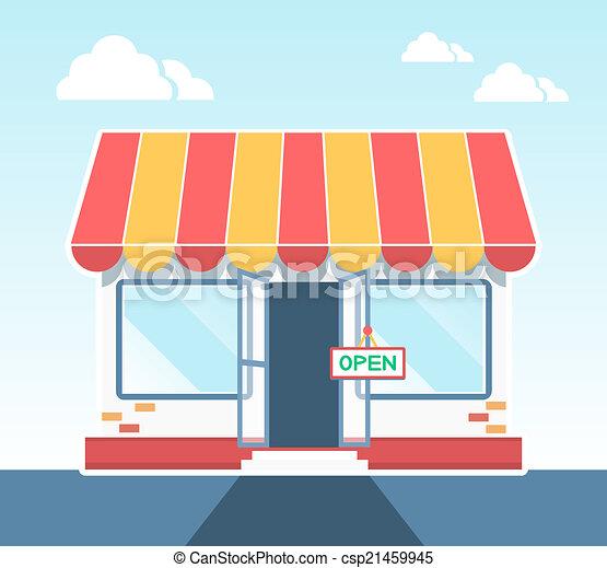 Tienda Vector - csp21459945